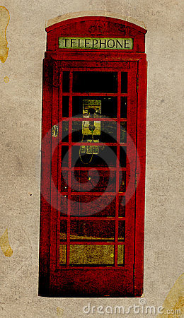Retro Telephone Booth
