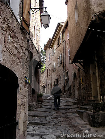 Medieval hamlet of Provence 1