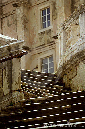 Stairs in Croatia
