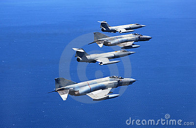 Fighting aircrafts
