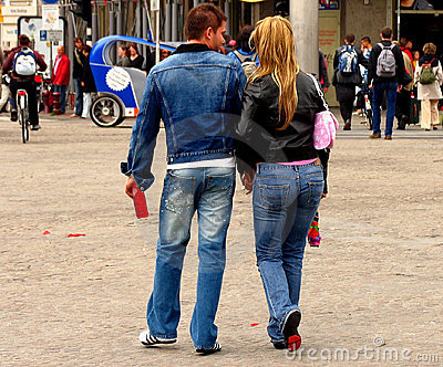 Urban Denim Couple