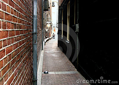 Narrow Street in Amsterdam
