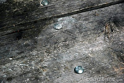Weathered wood.