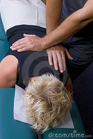 Chiropractic adjustment 01