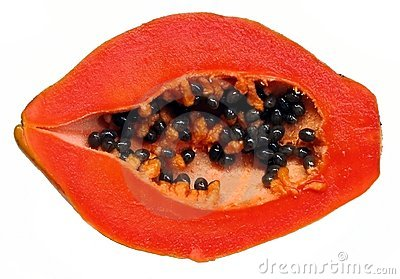 Fresh Papaya Half