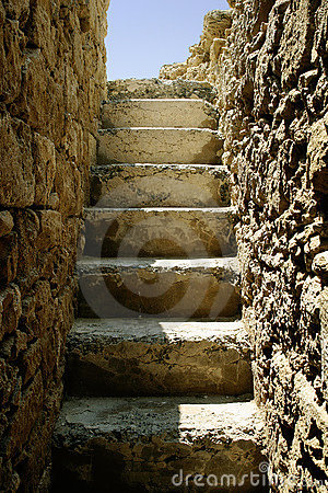 Old Ruined Steps