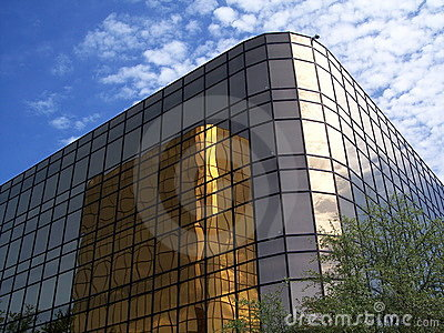 Gold office building 3