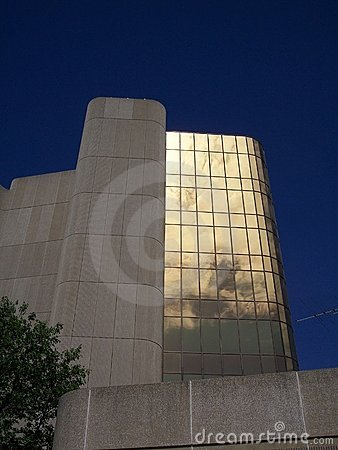 Gold office buildings 4