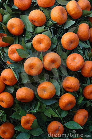 Chinese New year fruit - tangerines