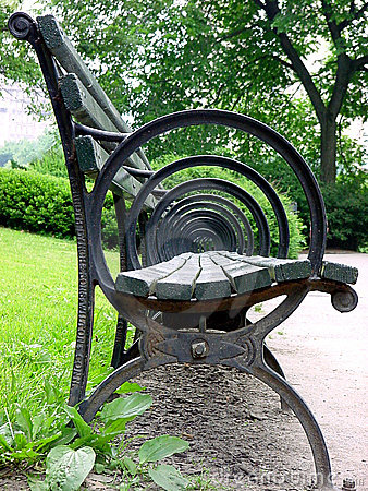 Chair in Central Park
