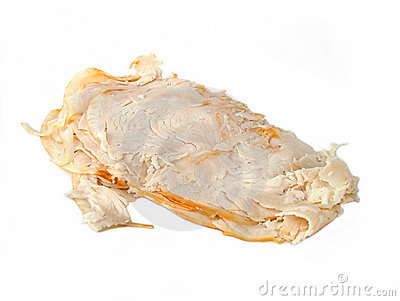 Sliced turkey meat