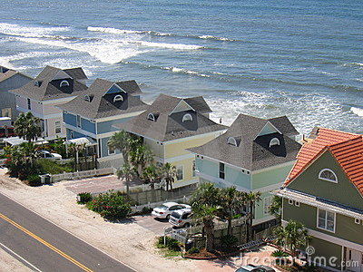 Row of Beach Homes