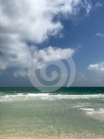 stock image of azure sea in the south of phu quoc