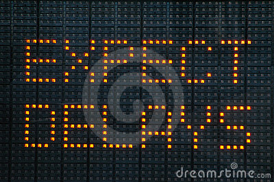 Urban Traffic Congestion Sign