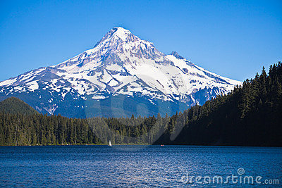 Mount Hood and Lost Lake