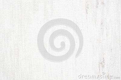 White painted wood texture seamless rusty grunge background, Scratched white paint on planks of wood wall