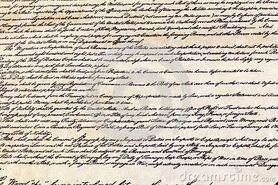 Constitution United States America history written background