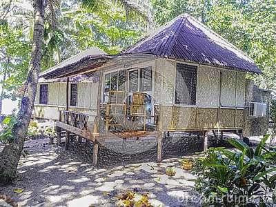 Plastic style image - Bungalow in the middle of nature, Beachfront accommodation in Ko