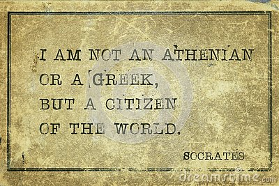 Citizen of the world Socrates