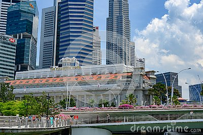 Fullerton Hotel, Singapore, luxury hotel with great history during time of Britsh colonial era
