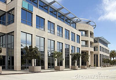 High Tech Corporate Office Building in California
