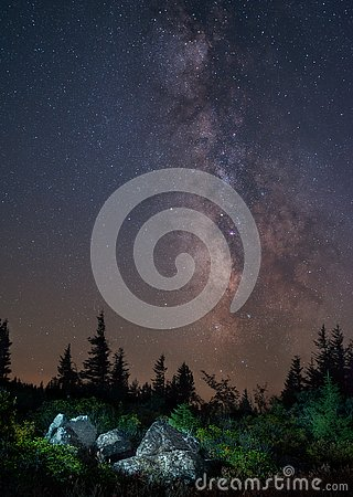 Dolly Sods Milky Way