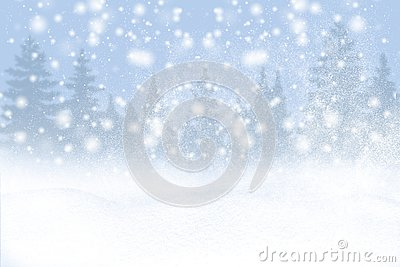 Winter background of snow and the frost with free space for your decoration. Christmas background