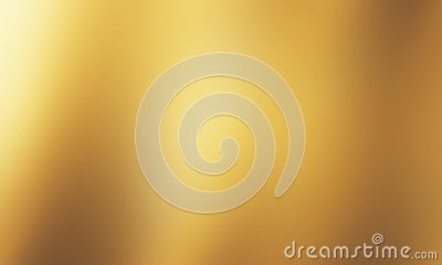 Abstract gold background luxury Christmas holiday, wedding background brown frame bright spotlight smooth vintage background