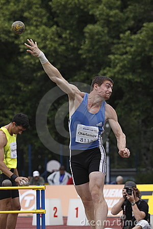 Vasiliy Charlamov at IAAF decathlon meeting