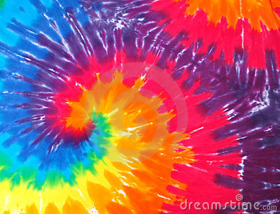 Tie dye abstract