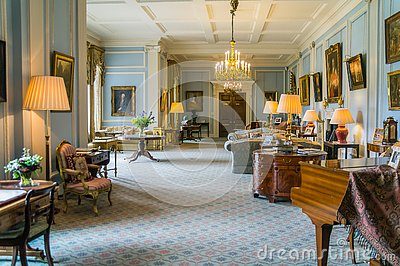 The State Drawing Room, Hillsborough Castle, Northern Ireland