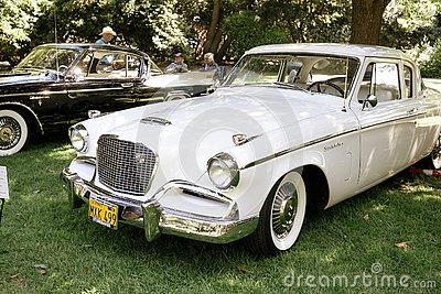An Old Studebaker is Displayed at the 2019 San Marino Motor Classic