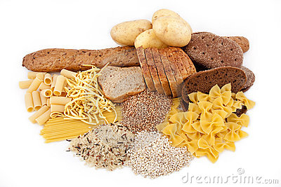 Carbohydrate products with potato