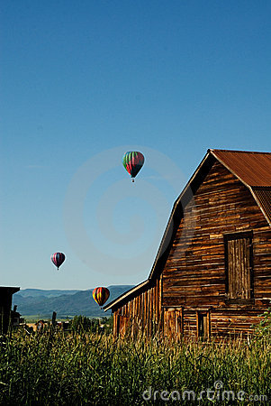 Balloons over Steamboat Springs