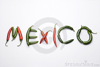 chiles from Mexico