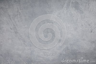 Concrete wall of light grey color, cement texture background