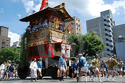 Gion Matsuri / traditional most famous festival in