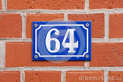House Number 64