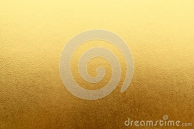 Shiny yellow metallic gold leaf foil texture background