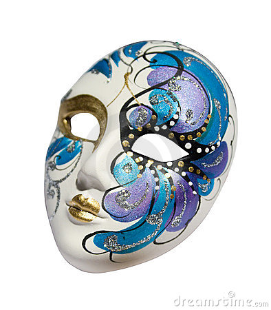 Venetian mask (Clipping path)