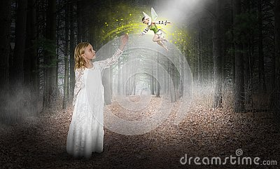 Fantasy, Imagination, Young Girl, Fairy, Elf, Woods