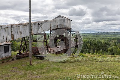 Old Retired Iron Ore MIne