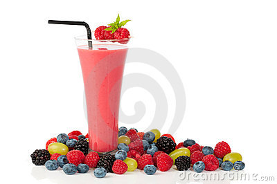 Smoothie With Straw