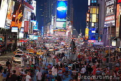 Times square - New York city