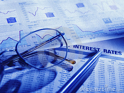 Stock market financial paper