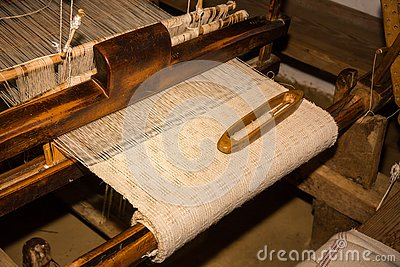 Old weaving, authentic Romanian tradition.
