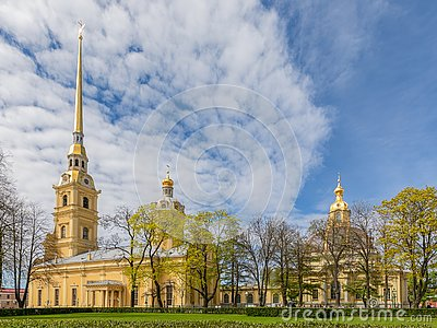 Saints Peter and Paul Cathedral in the Peter and Paul Fortress