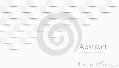 White abstract texture. Vector background 3d paper art style can be used in cover design, book design, poster, cd cover, flyer