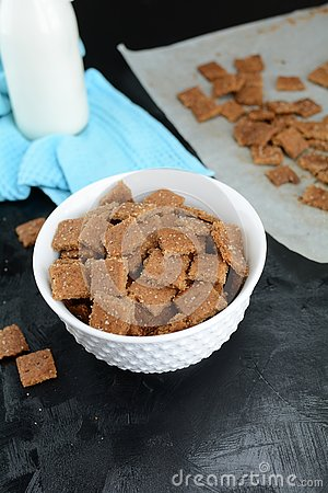 Keto Cinnamon Toast Crunch - with almond flour and sugar substitute