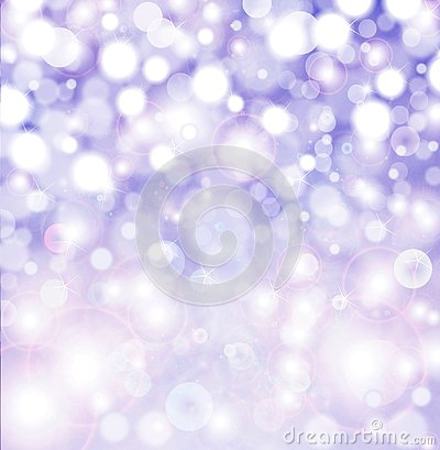 Sparkling winter Christmas party lights background.
